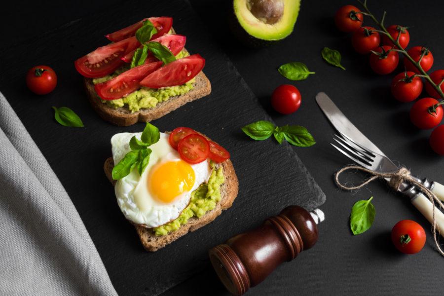 Сандвичи с авокадо