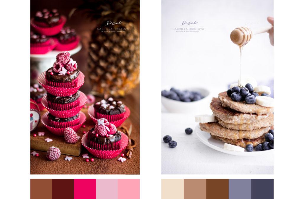 Кулинарна фотография - Цветови комбинации
