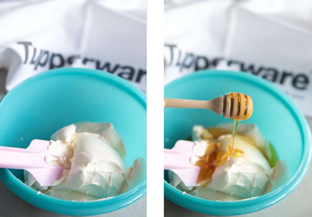 Маскарпоне с мед