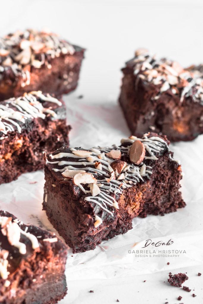 Шоколадово брауни с тиква